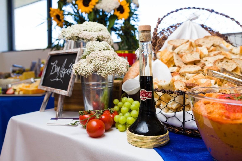 Food display for Utah Pride Party