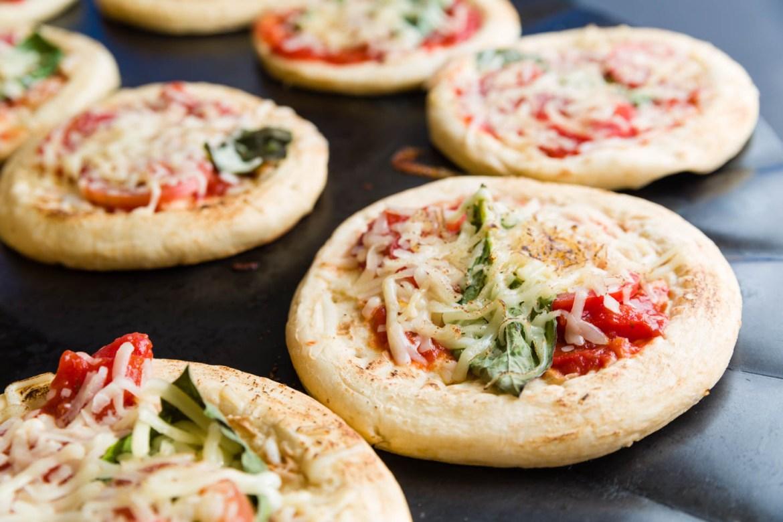 Margherita personal pizza