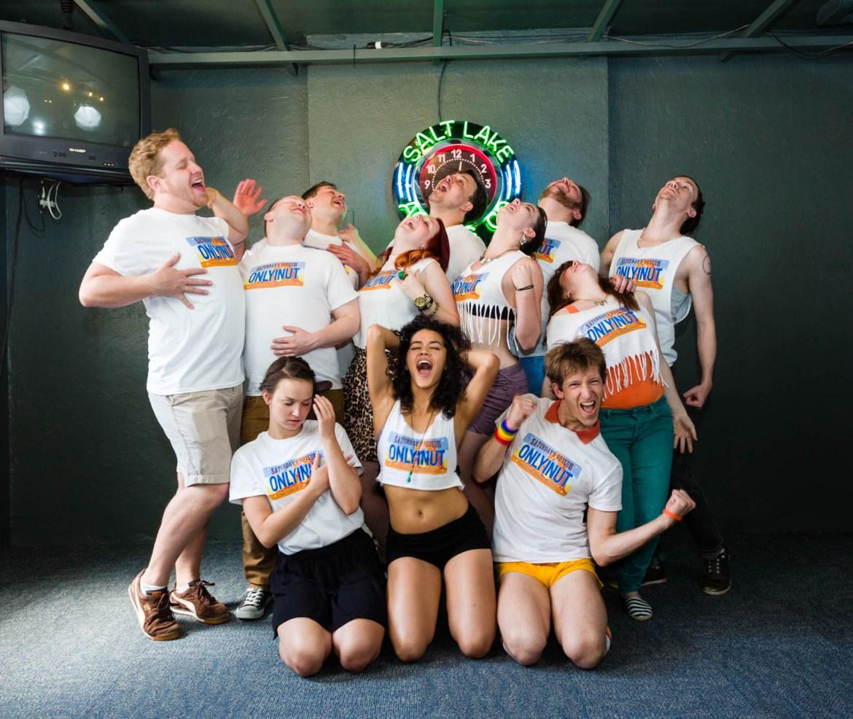 Cast of 2013's Saturday's Voyeur—fun photo