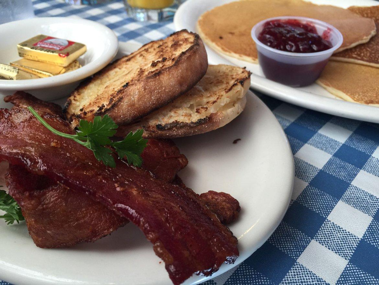 bacon english muffins swedish pancakes