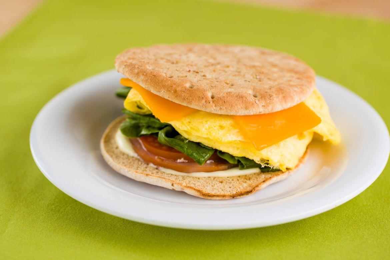 Thin Breakfast Sandwich