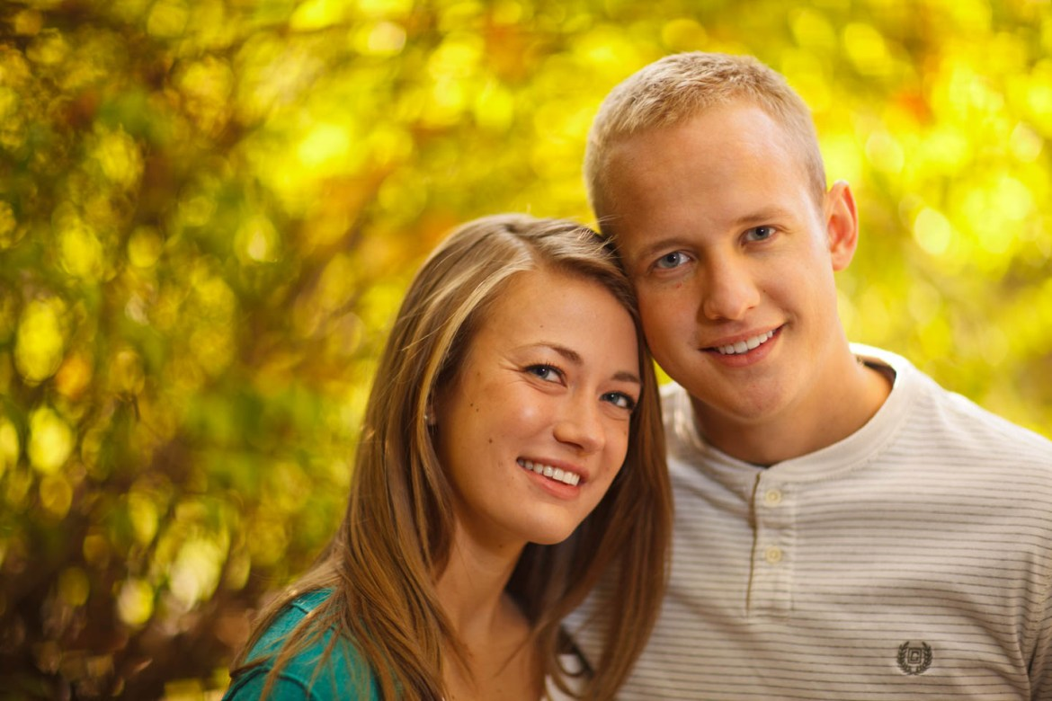 Engagement photography in Provo