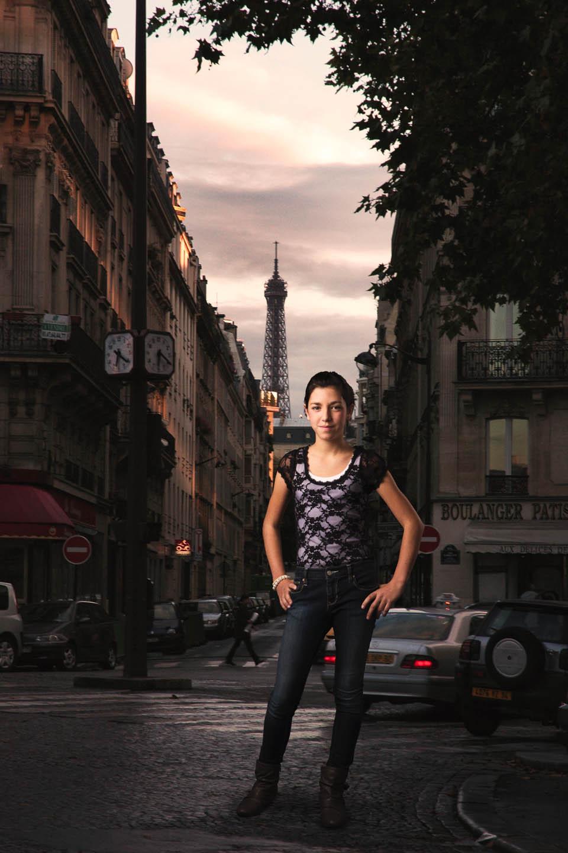 Photoshopped into Paris