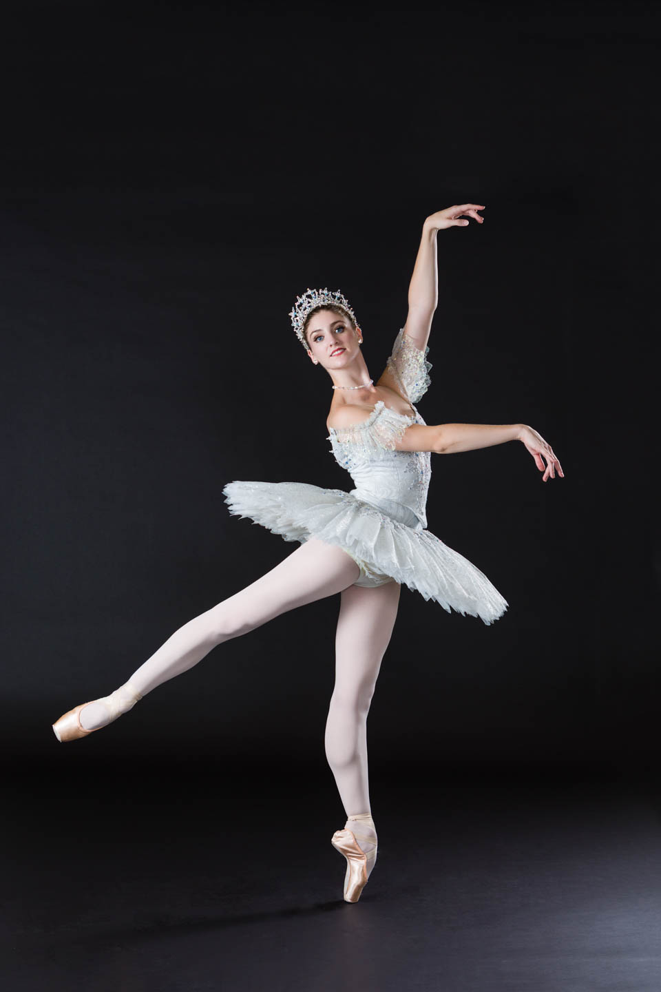 Lead Ballerina poses for the cover of the 2015 Nutcracker