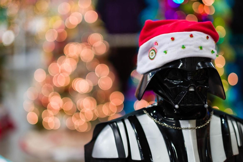 Darth Vader as Santa
