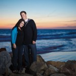 Lisa & Noah's engagement photo shoot in Newport Beach California