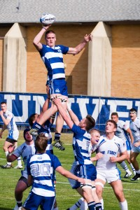 Leaping for a line-out