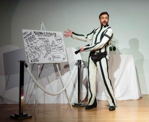 Steven explains Mormon beliefs