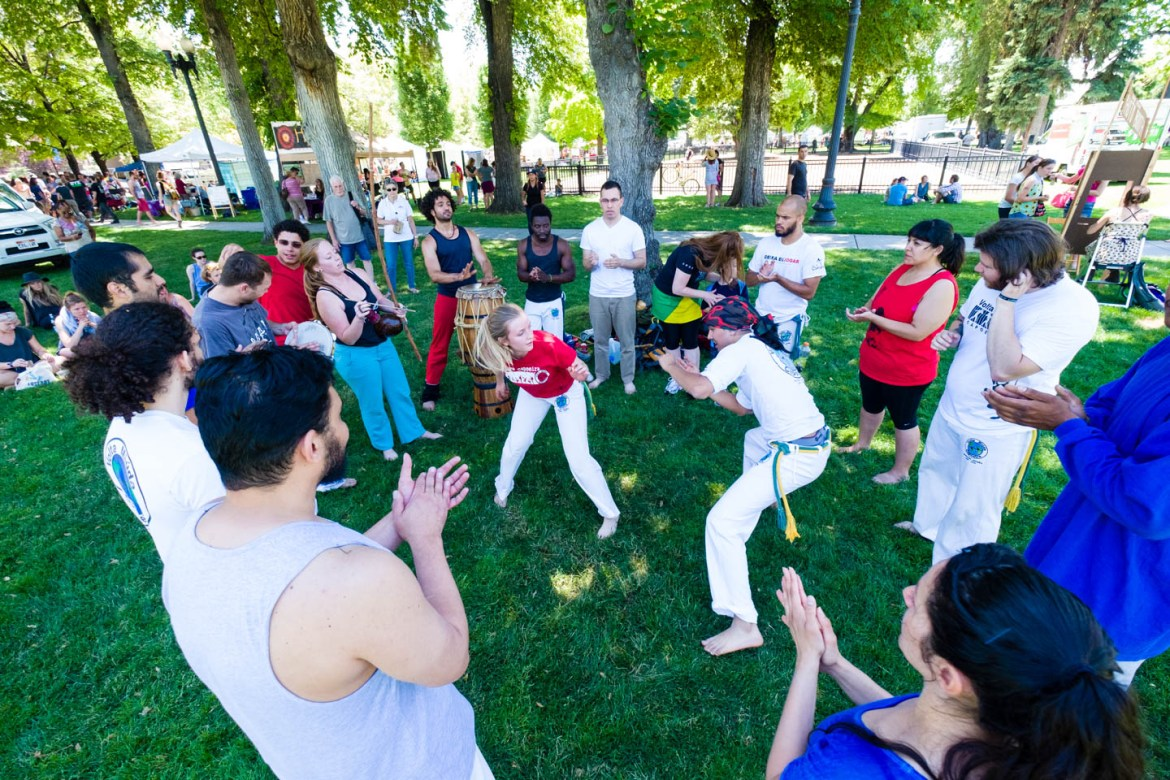 Capoeira in the Park