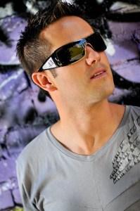 Ty sporting his Armani Exchange sunglasses
