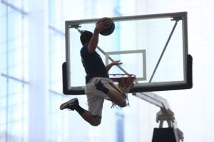 Flying dunks
