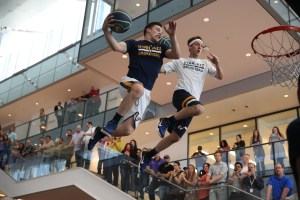 Double dunk for the Dunk Team