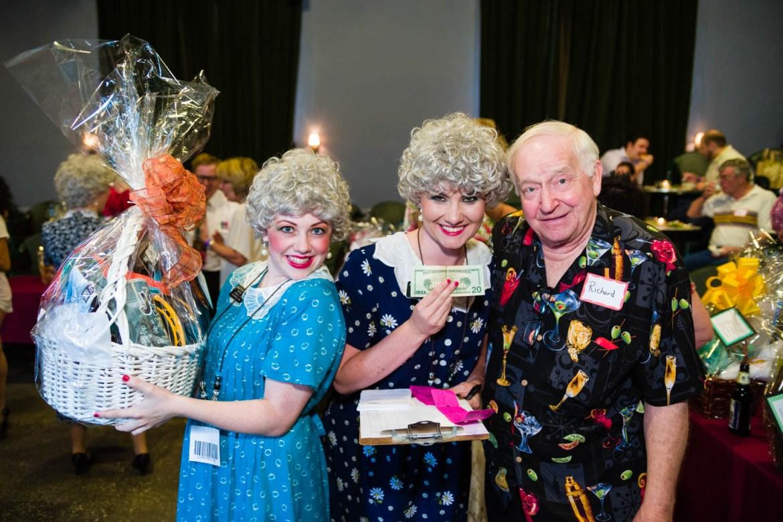 Actors present the prizes