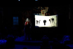 A puppet show for exposition