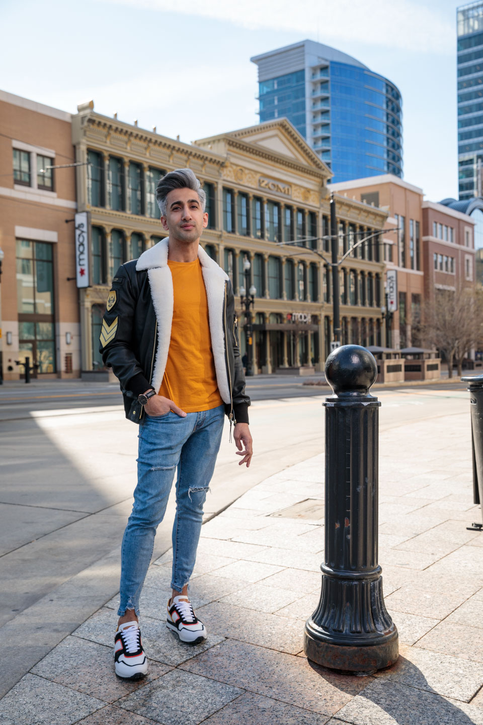 Tan France, fashion expert on Queer Eye