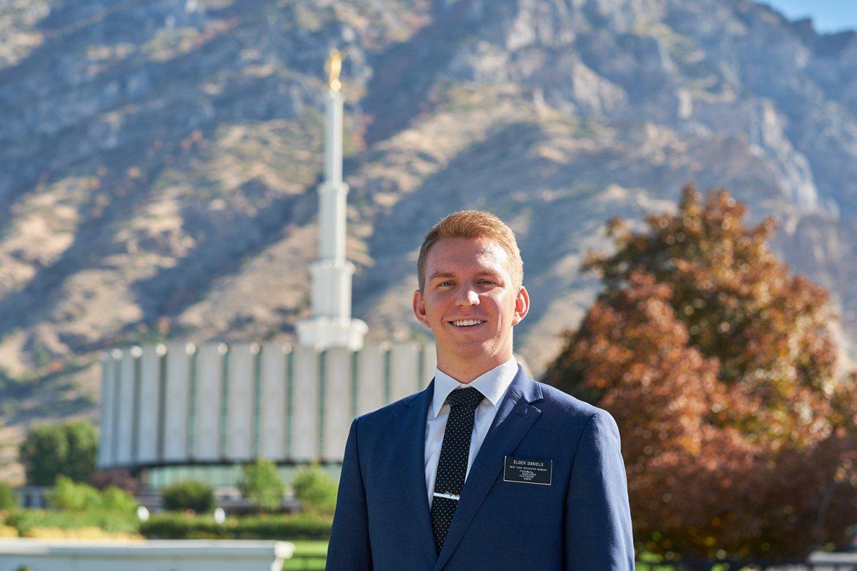 Elder Daniels and the Provo Temple