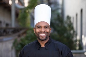 Chef with his toque blanche