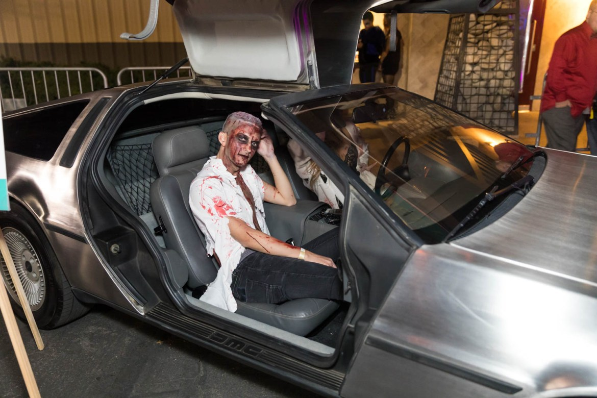 Zombies and a Delorean