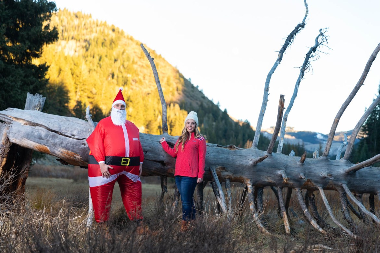 Santa makes an appearance
