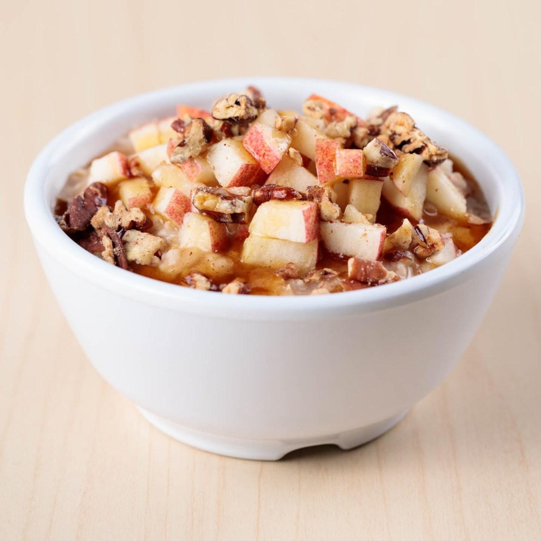 Apple Pecan Oatmeal