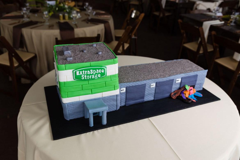 Custom designed cake by LUX