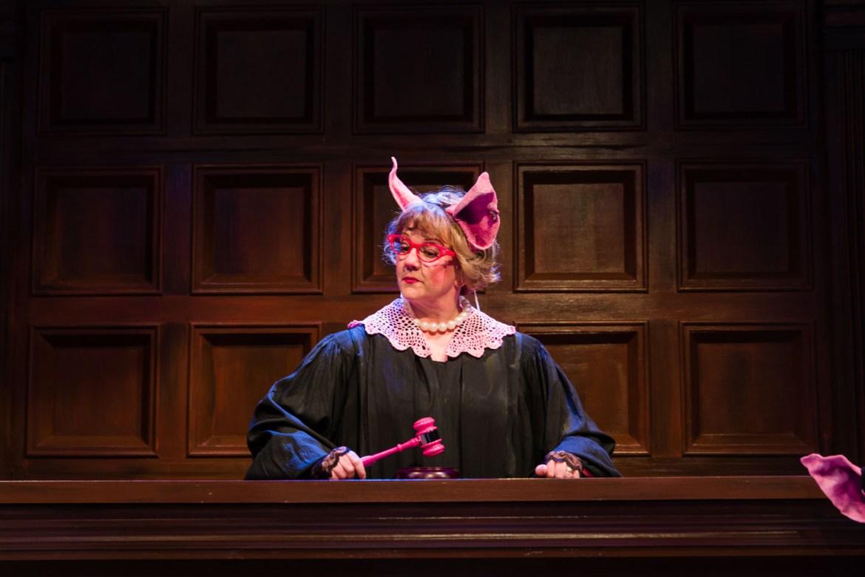 A pig judge