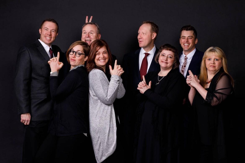 A fun group photo