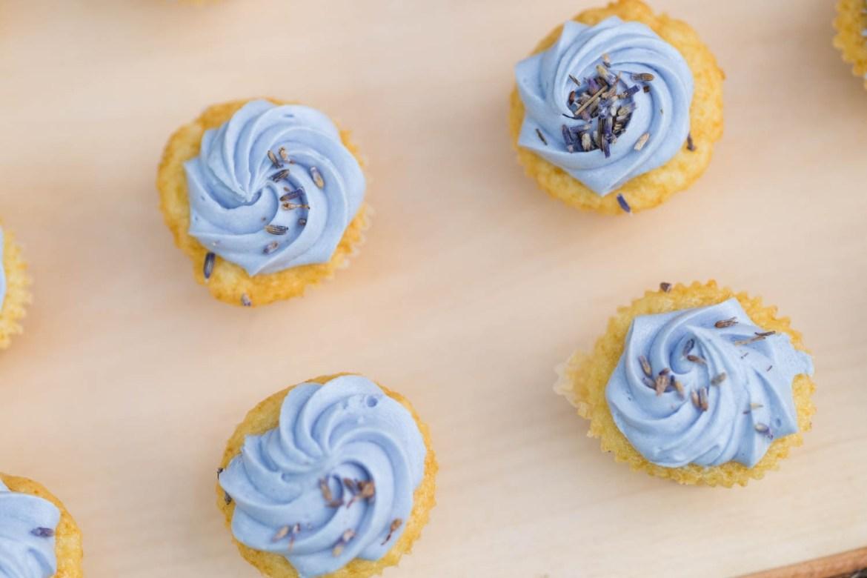 Lemon & Lavender cupcakes