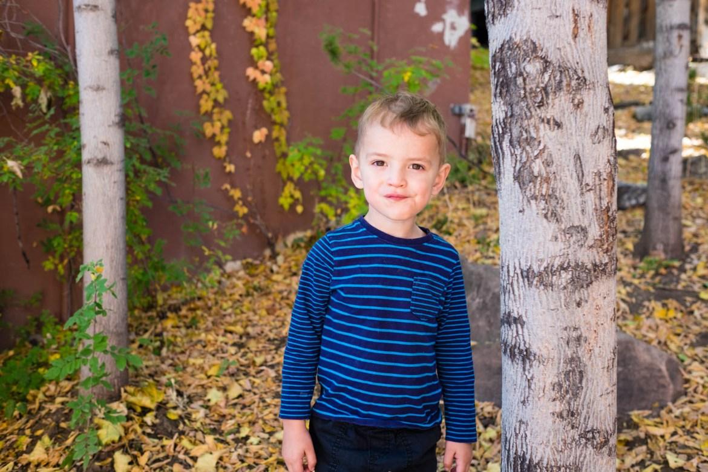 Kid's natural expression