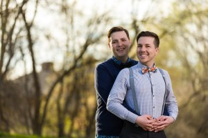 Spring time engagement sessions