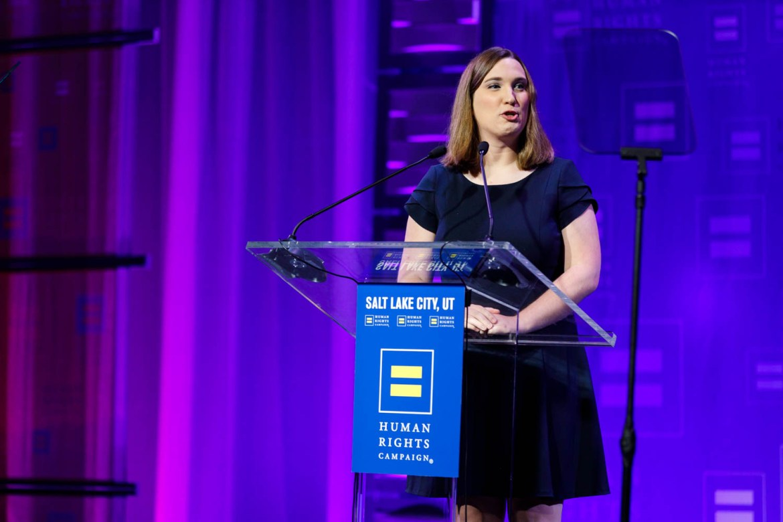 Sarah McBride of the HRC