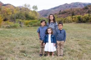 The kids rocking the autumn portraits