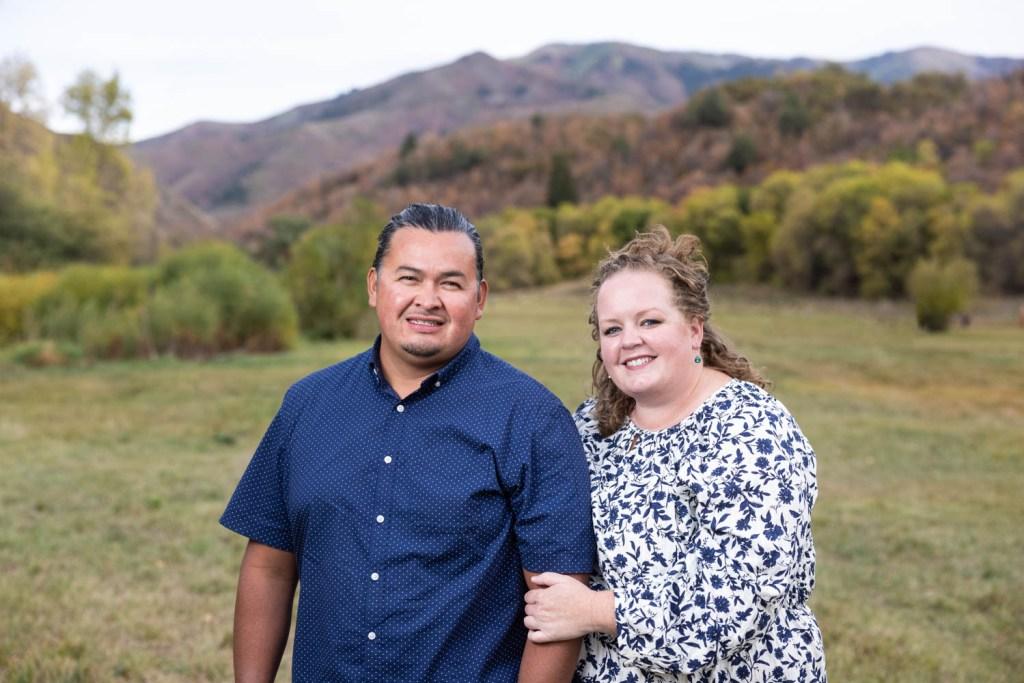 Mom & Dad's autumn portrait