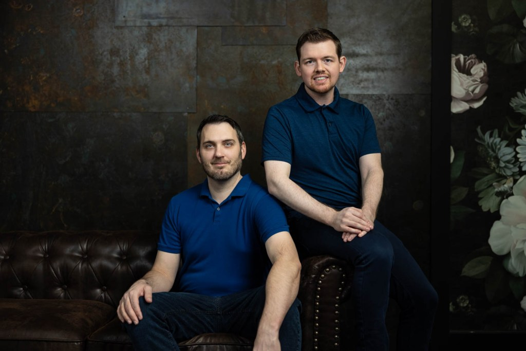 Ian & Kevin's Portrait in Studio
