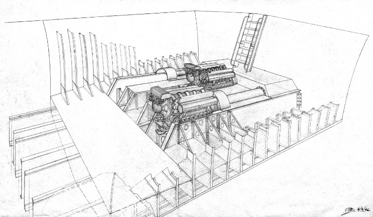 Boat Engine Room Diagram. Engine. Auto Parts Catalog And