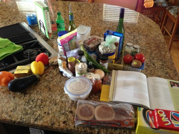 A plethora of vegan ingredients