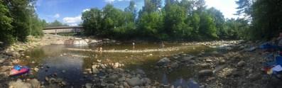 The beautiful Ammonoosuc River in Bath, NH