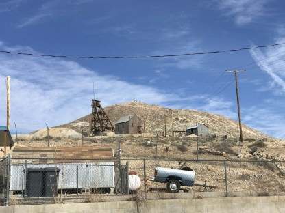 The mining museum in Tonopah