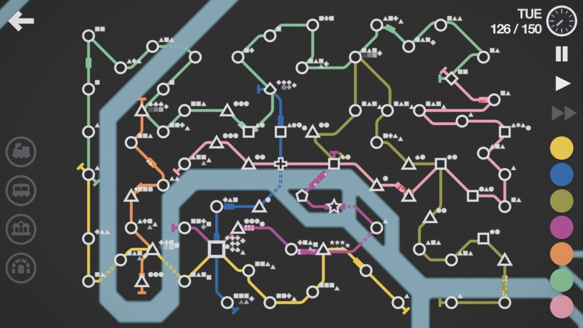 Mini Metro: the perfect iOS game for nerds and engineers (or nerdy engineers!)