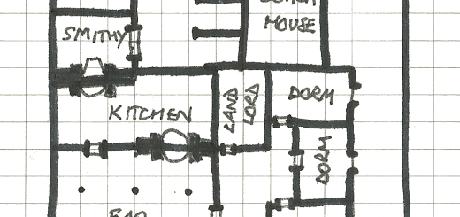 A Roadside Inn Map
