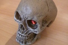 Escape from the Steel Tomb Altar Skull