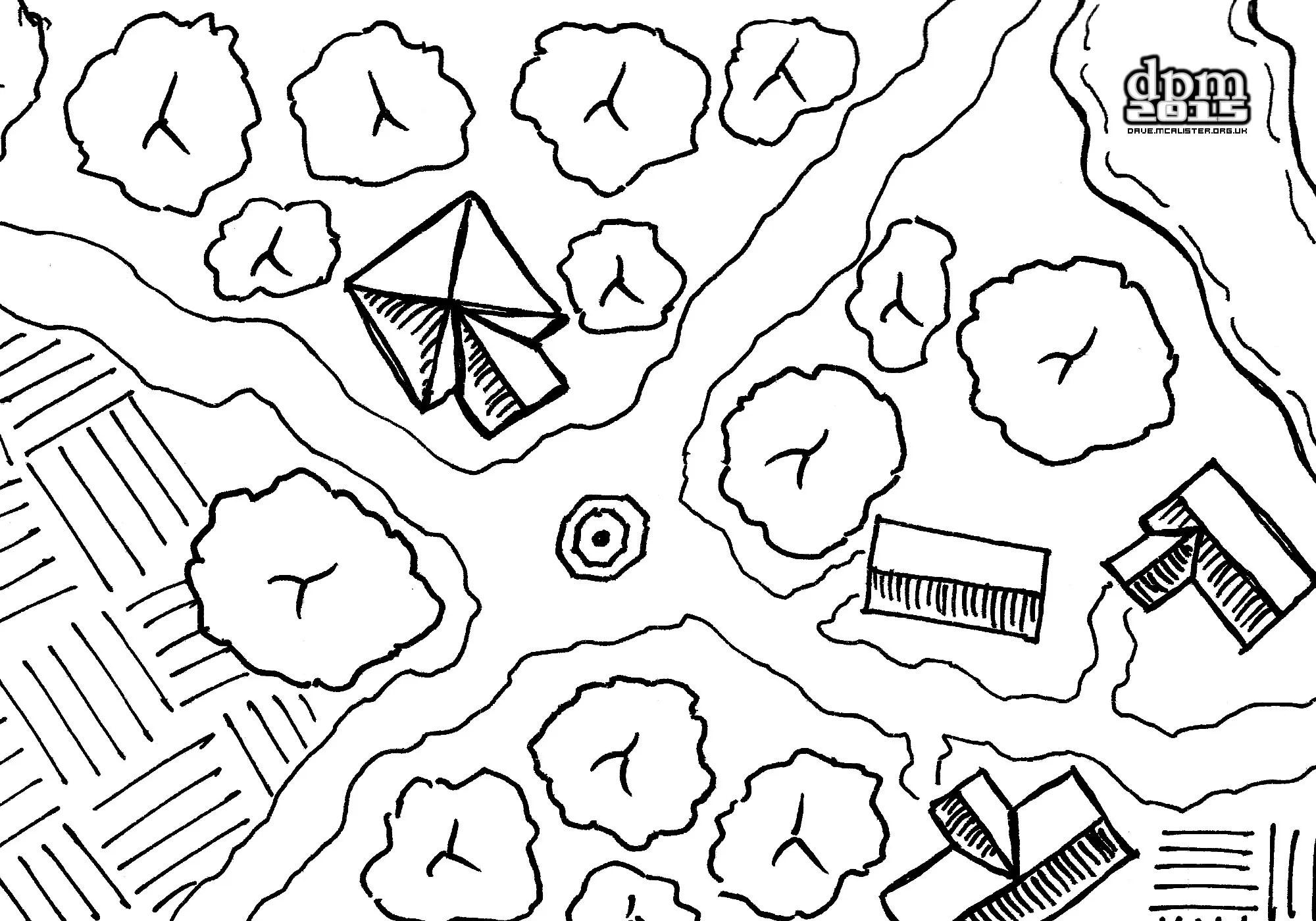 [Friday Map] Logging Village