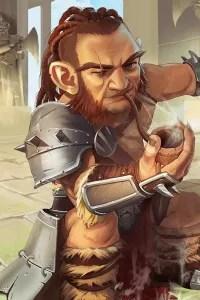 Gnomish Bob, Gnome Barbarian