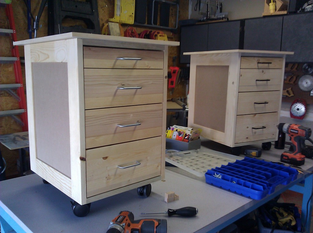 Desk Drawers - Completed