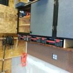 Garage Parts Case Shelf