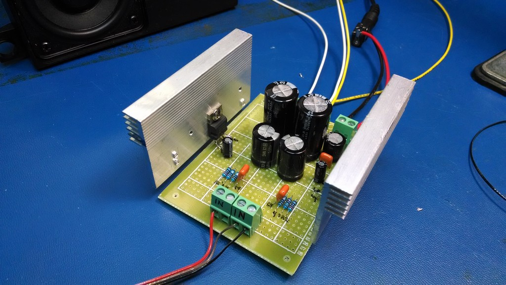 20W Amplifier Project