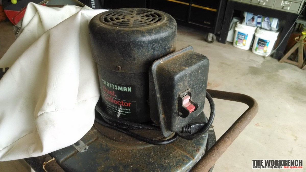 Sears Craftsman Dust Collector Refurb (113.299780)