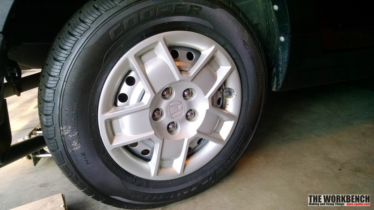 Honda Element Steel Rim Repaint