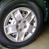 Honda Element Steel Rim Repaint
