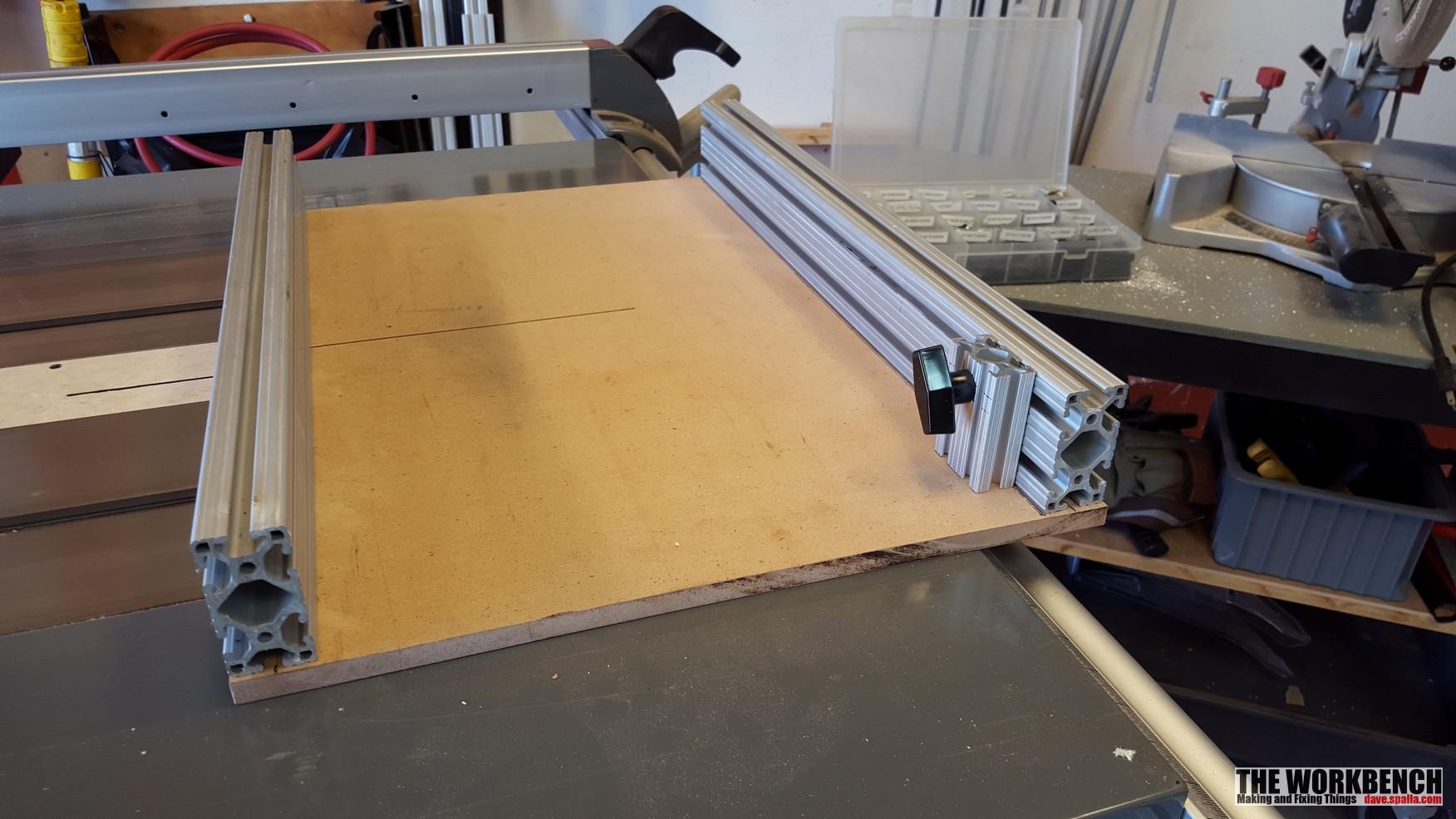 Tablesaw Cross Cut Sled The Workbench